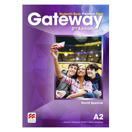GATEWAY 2ND EDITION A2 STUDENT`S BOOK PREMIUM PACK +STUDENT`S RESOURCE CENTRE + ONLINE WORKBOOK