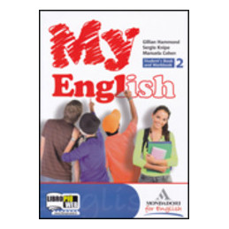 MY ENGLISH 2 STUDENT`S BOOK+WORKBOOK+COMPANION+CD AUDIO 2 Vol. 2