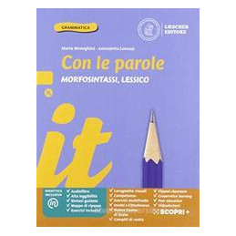 CON LE PAROLE BLU MORFOS+DVD+PRO+SCR+Q+C EDIZIONE BLU Vol. U